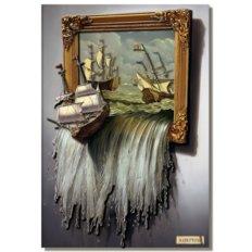 фото: картина папертоль Море в картине
