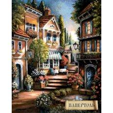 Набор папертоль Цветущий переулок-1