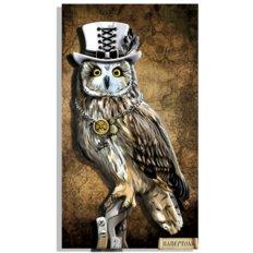 фото: картина в технике папертоль, сова