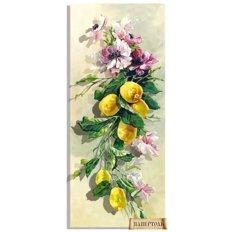 фото: картина папертоль Анемоны и лимоны