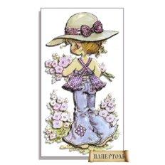 фото: картина в технике папертоль Собирая цветы