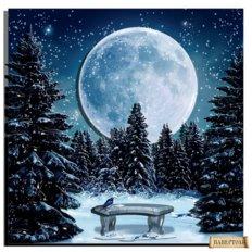 фото: картина в технике папертоль Луна