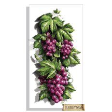 фото: картина в технике папертоль Сочный виноград