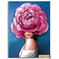 фото: картина в технике папертоль Девушки-цветы. Стиль