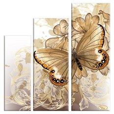 Схема для вышивки бисером Бархатные крылья