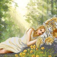 фото: схема для вышивки бисером Полуденный сон