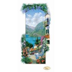 фото: картина для вышивки бисером итальянский пейзаж Сицилия