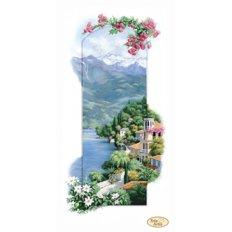 фото: картина для вышивки бисером итальянский пейзаж