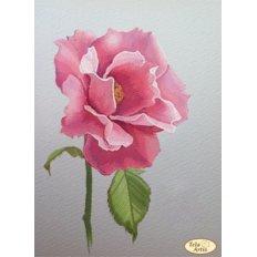 фото: картина для вышивки бисером, Эскиз розы