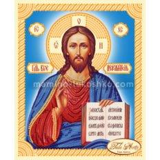 Схема для вышивки бисером иконы Господь Вседержитель