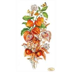 фото: картина для вышивки бисером, Осенний физалис
