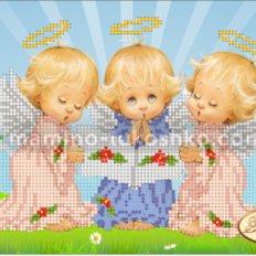 Схема для вышивки бисером Почти идеальный (мальчик)