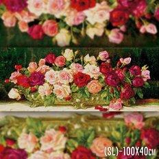 фото: картина в алмазной технике Ваза с розами