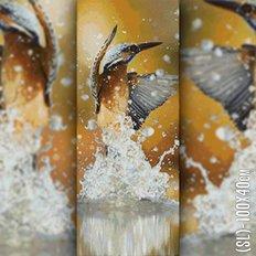 фото: картина в алмазной технике Птица
