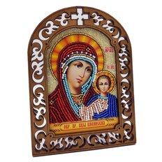фото: набор для вышивки бисером по дереву, Икона Пресвятая Богородица Казанская