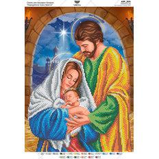 фото: схема для вышивки бисером икона Рождение Иисуса Христа