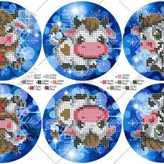 фото: схема для вышивки бисером Игрушки