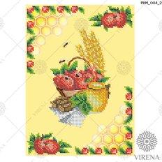 фото: рушник на Спас для вышивания бисером, Мёд