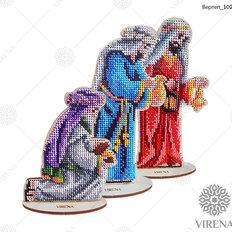 фото: фигурка интерьерная из дерева под вышивку бисером или крестиком