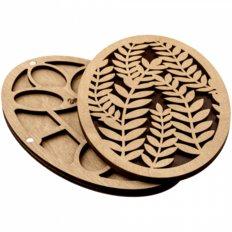 фото: деревянный органайзер для бисера с деревянной крышкой