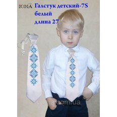 фото: детский галстук для вышивки бисером