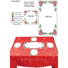 фото: схема для вышивки бисером салфеток, Розы