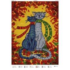 фото: картина для вышивки бисером, Котики