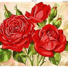 фото: картина для вышивки бисером, Розы