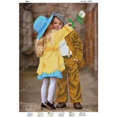 фото: картина, вышитая бисером Дети