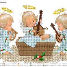фото: картина для вышивки бисером Ангелы
