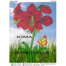 фото: картина для вышивки бисером цветок