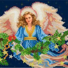 фото: картина для вышивки бисером фея