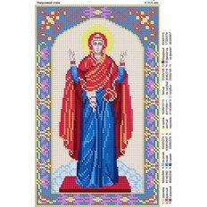изображение: икона для вышивки бисером, Нерушимая стена