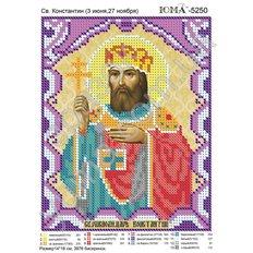 изображение: икона для вышивки бисером Св. Константин