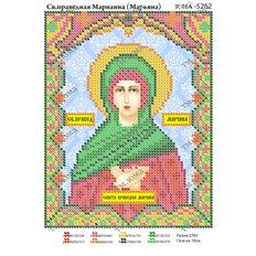 изображение: икона для вышивки бисером Св. Марианна (Марьяна)