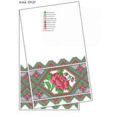 фото: рушник свадебный для вышивки бисером
