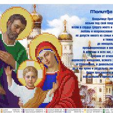 фото: Молитва о семье для вышивки бисером, схема