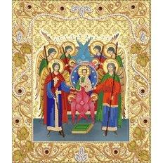 Схема для вышивки бисером Собор Архангела Михаила